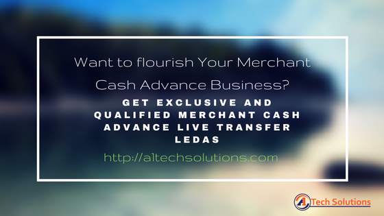 Qualified Merchant Cash Advance Leads